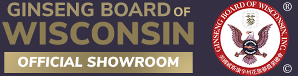 Logotipos de pie de página de Ginseng Board of Wisconsin